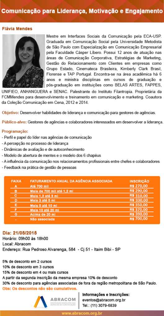 Folder Flávia Mendes